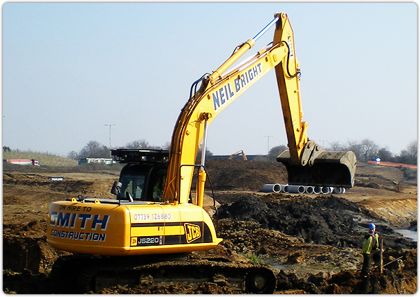 Groundworks within Milton Keynes